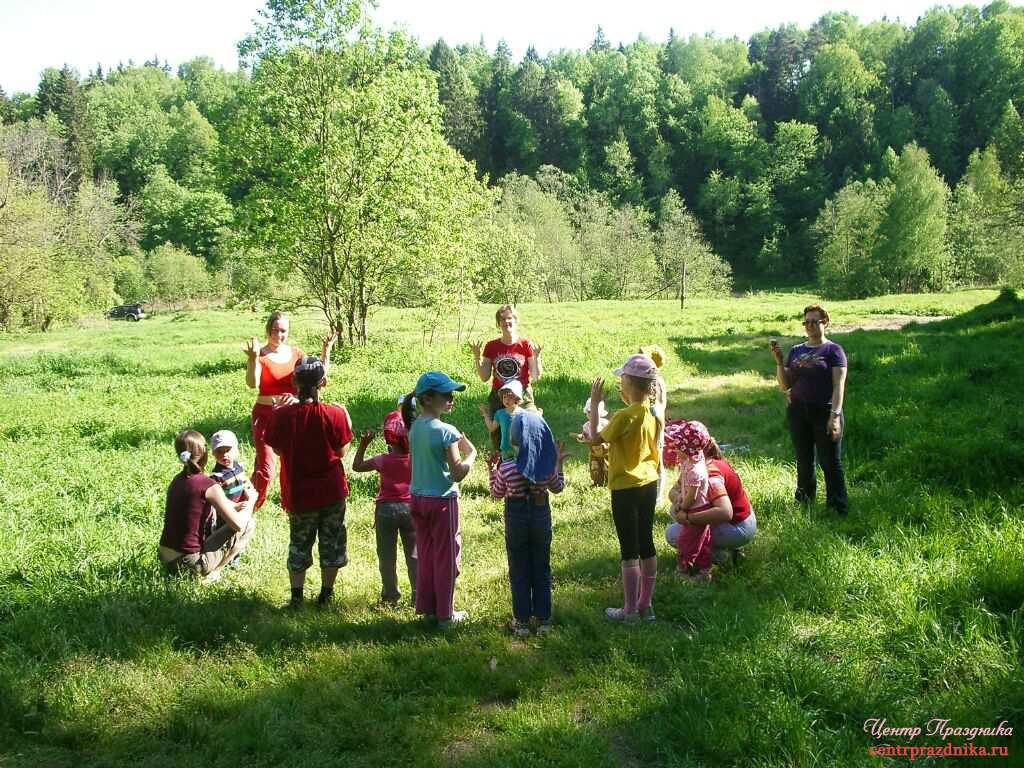 Сценарий детского праздники на природе