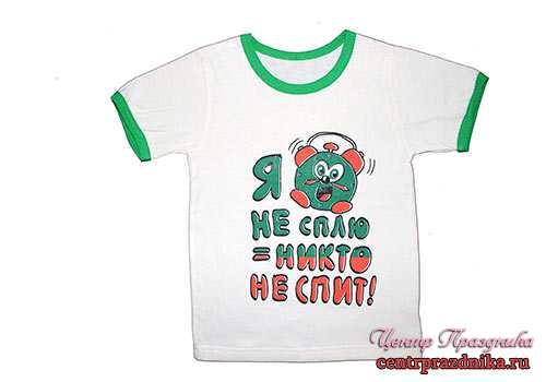 Надписи на футболках для детей фото
