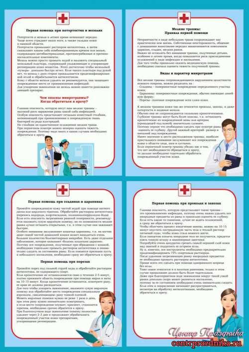 """Информация для родителей """"Мелкие травмы"""""""